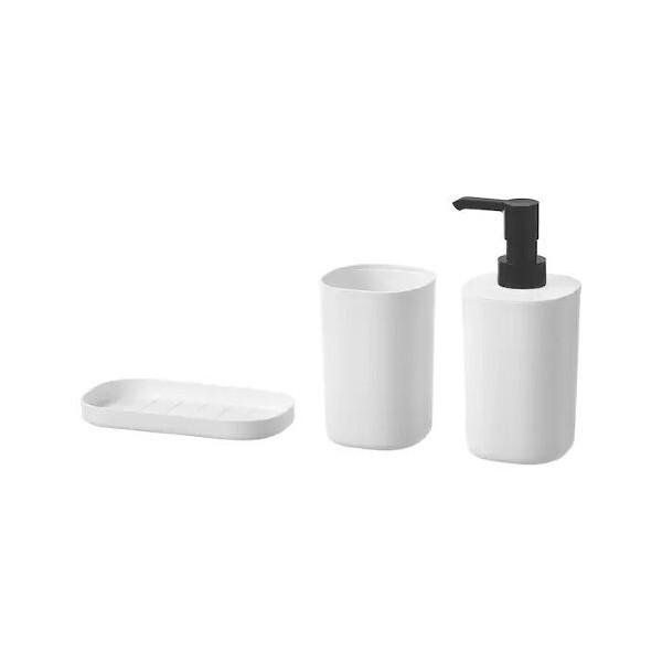 이케아 STORAVAN 스토라반 욕실용품3종/화장실/칫솔/비누/물비누통 상품이미지