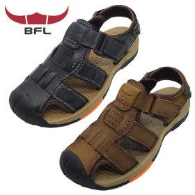 BFL 3443 여름 남자 가죽 샌들 캐주얼 통풍 신발