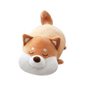 모찌 강아지 고양이 동물 쿠션 애착 인형 시바견 35cm