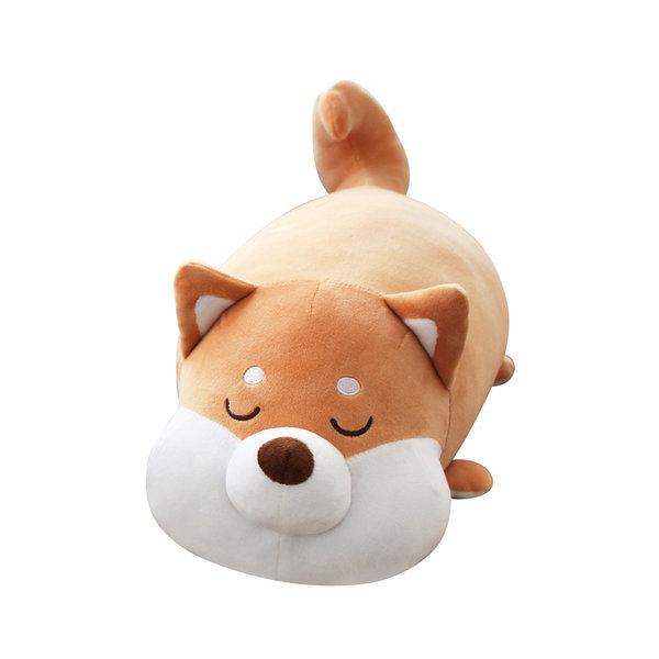 모찌 강아지 고양이 동물 쿠션 애착 인형 시바견 35cm 상품이미지
