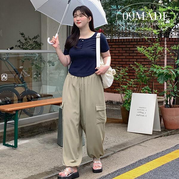 공구우먼 여름 티셔츠 린넨 모음 빅사이즈 여성의류 상품이미지