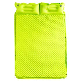 텐트꿀잠 자충식 에어 캠핑매트(190x132) (그린)