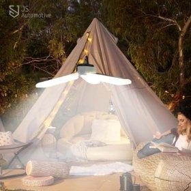 캠핑 텐트 트레일러 카라반 랜턴 작업등 라이트 램프