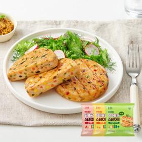 똑똑식단 닭가슴살 야채 스테이크 100g x 10팩