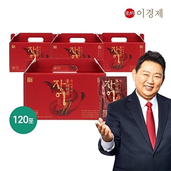 래오이경제 홍삼먹은 장어진액 4박스(70mlx30포x4박스) 상품이미지