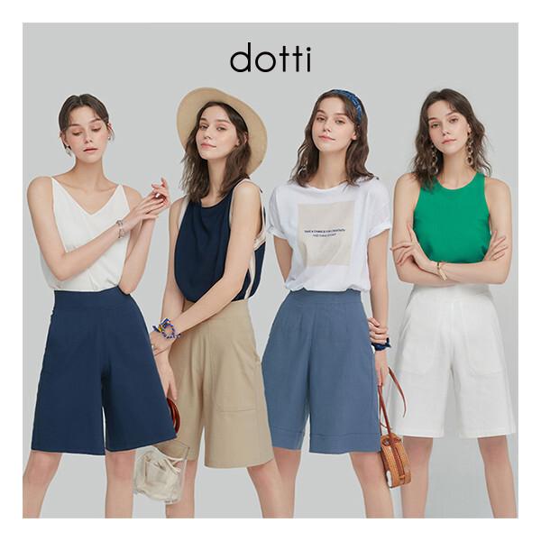 도티   DOTTI  여성 인견블렌디드 반바지 4종 상품이미지