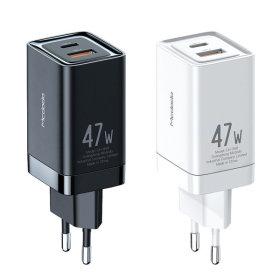 GaN PD3.0 PPS 47W 초고속 미니 2포트 멀티충전기