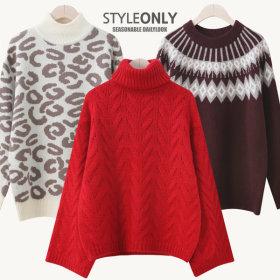 Knitwear made in Korea/Cardigans/long knit/knit dresses/turtleneck