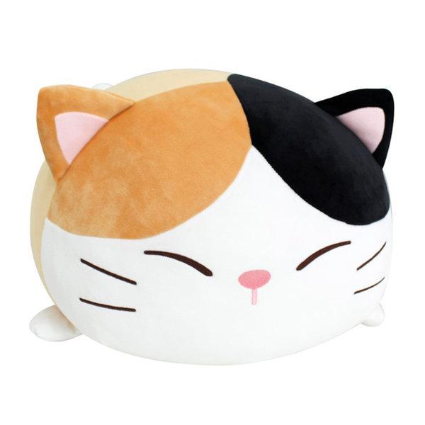 모찌 강아지 고양이 동물 쿠션 애착 인형  까망 40cm 상품이미지
