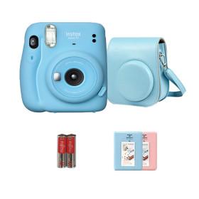 미니11카메라 블루+케이스/폴라로이드카메라