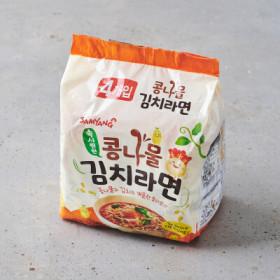 삼양 콩나물 김치라면 115G 4