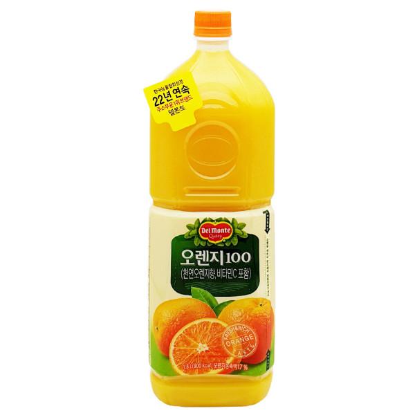 델몬트 오렌지100 1.8L /오렌지주스 상품이미지