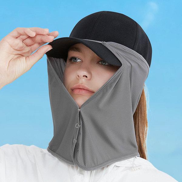 모자 햇빛가리개 얼굴 넥커버 선가드 자외선차단 상품이미지