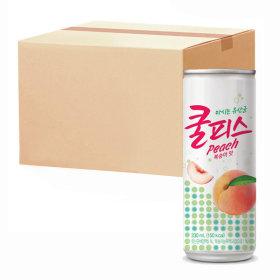 동원 쿨피스 복숭아 230ml 30캔 (1박스)