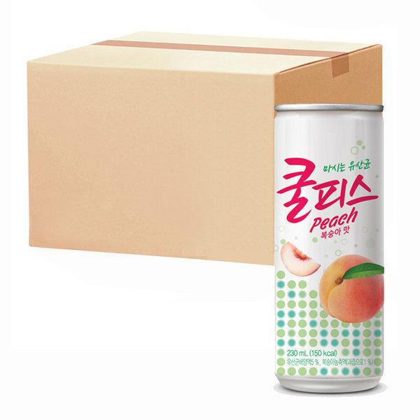 동원 쿨피스 복숭아 230ml 30캔 (1박스) 상품이미지