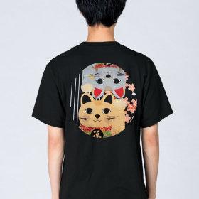 Gudaform 티셔츠 네코블러썸/ 일식 홀복 유니폼 구다폼