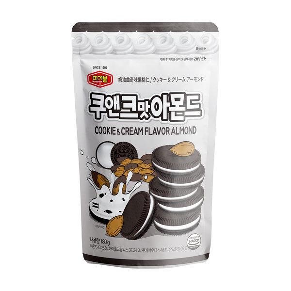 쿠앤크맛아몬드 180g/간식/안주 상품이미지