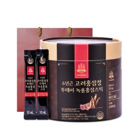 고려홍삼중앙회 투데이 녹용홍삼스틱10ml 100포/대용량