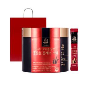6년근고려홍삼정 홍삼을 통채로스틱 10ml 100포대용량