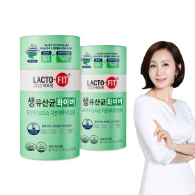Chong Kun Dang Healthcare LACTO-FIT Fresh Lactobacillus Fiber 2 Bottles