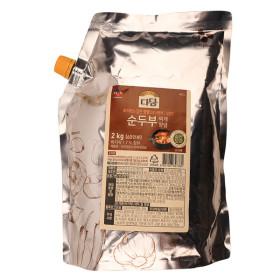 (대용량양념) CJ 2kg 양념 / 순두부찌개