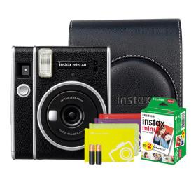 미니40/폴라로이드/즉석카메라 블랙/필름2P+ 가방 외