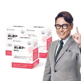 오메가3 세노메가 콜레다운 3박스/혈행콜레스테롤