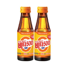 비타500 칼슘 100ml 40병 + 기분좋은 비타민D 10병