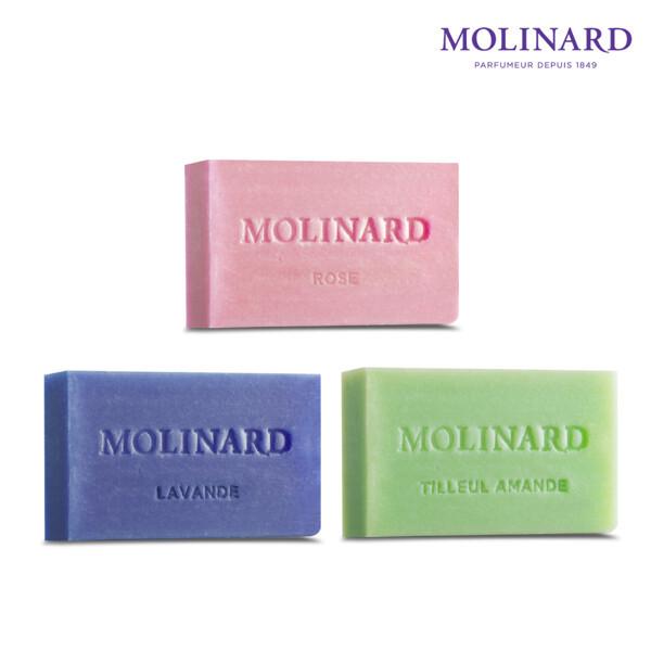 H몰  MOLINARD 몰리나르 퍼퓸드 솝 박스 (3종) 상품이미지