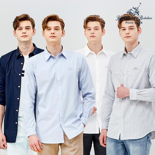 남성)RCB POLO CLUB 캐주얼 옥스포드 셔츠 4종 상품이미지