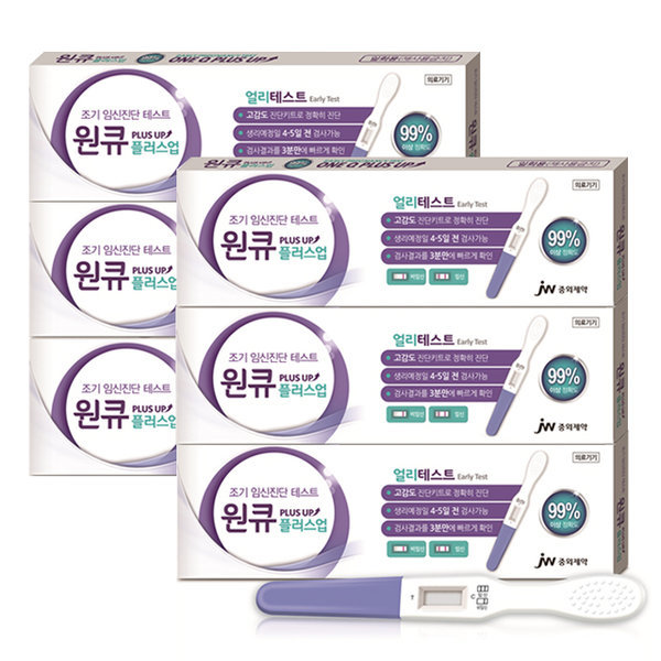 JW중외제약 원큐플러스업 얼리테스트 6개 상품이미지