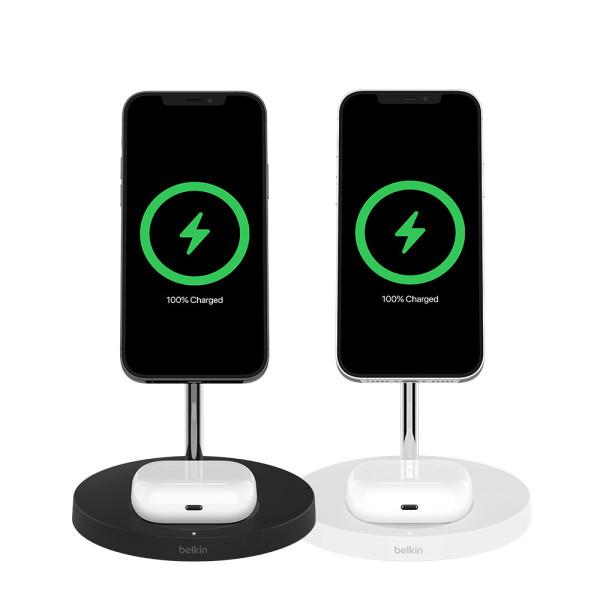 2in1 맥세이프 15W 무선 충전 거치대 WIZ010kr 아이폰 상품이미지