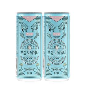 초정 토닉워터 250ml 30캔 2박스 음료수 탄산음료
