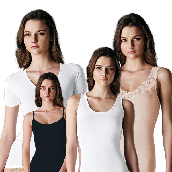 브랜드여성런닝셔츠/메리야스/끈나시/반팔/여자속옷 상품이미지