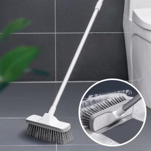 파워바닥솔(CP06) / 화장실 욕실 틈새 청소 솔 브러쉬
