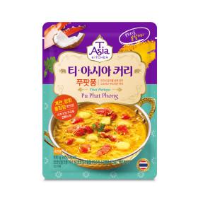 티아시아 게살 푸팟퐁 커리 분말 요리용 카레 100g
