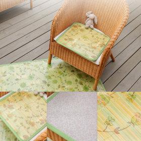 청대방석 대나무방석 여름방석 쿨방석 통풍 무늬45x45