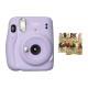 인스탁스 미니11 즉석카메라 라일락퍼플 +하트데코 상품이미지