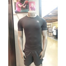 (신세계의정부점)언더아머 컴프레션 21ss 기능성 반팔 트레이닝 티셔츠 1361518-001