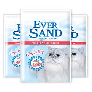 에버샌드 멀티캣 무향 6kgx3개(1BOX) / 고양이 모래