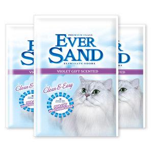에버샌드 바이올렛 기프트향6kgx3개(1BOX)/고양이모래