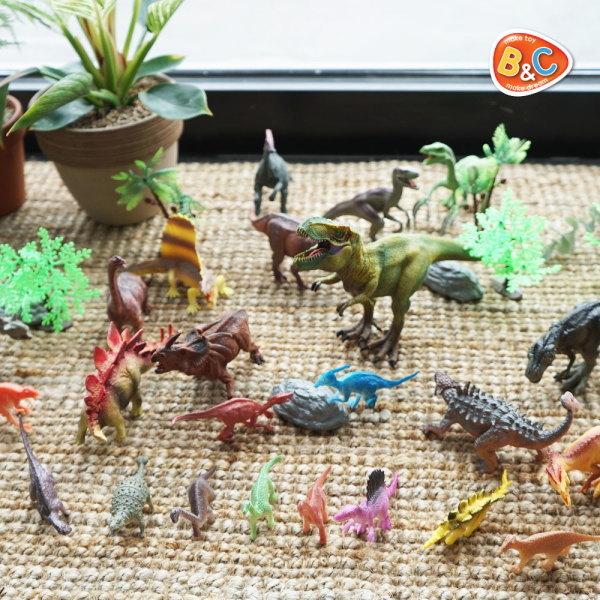 (주)비앤씨  증강현실 공룡 피규어 다이노 GO 월드 대용량 보관함 역할놀이 모래 캠핑 상품이미지