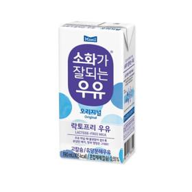 소화가잘되는우유 190ml 48팩