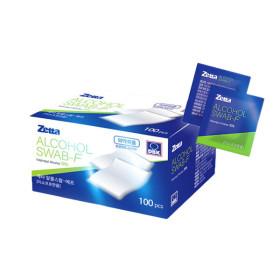 소독용 알콜스왑 100매 의약외품 소독솜 알콜솜 채혈솜 일회용 생활용품소독