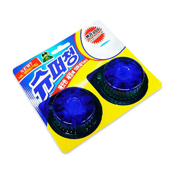 SM 산도깨비 슈퍼청 2P / 변기세정제 악취제거 청결 상품이미지