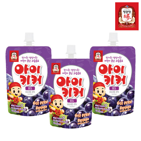 아이키커 포도맛 100mlX30팩-주스/어린이음료 상품이미지