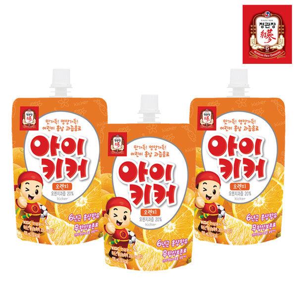 아이키커 오렌지맛 100mlX30팩-주스/어린이음료 상품이미지