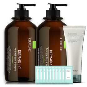 [CERACLINIC] Green Anti-Hair Loss Shampoo Large 1000ml 1+1