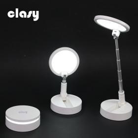 클래시 LED 폴딩 블루라이트 차단 스탠드+거치대 포함