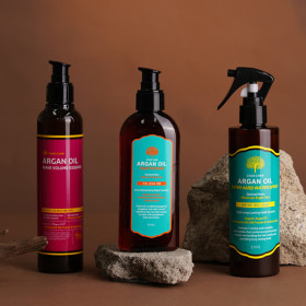CHAR CHAR/Arcan Oil/Hair Spray